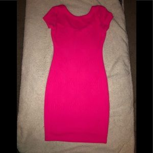 Gianni bini pink pencil dress